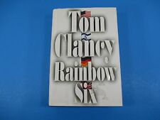 Rainbow Six Book First Edition HC DJ  By Tom Clancy 740 Pages 1998