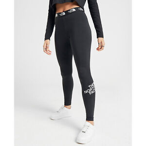 The North Face Womens Leggings Ladies Gym Yoga Fitness Pants Size 10 12 14 S M L