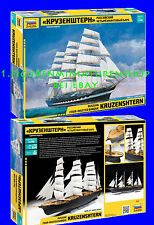 1:72 personnages 9045 Russian four-masted barque KRUZENSHTERN-Zvezda NEUF