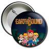 EARTHBOUND Collector's Pin Button, Ness, Paula, Jeff, Poo, SNES, Nintendo, Retro