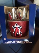 Boelter Brands MLB Gift Bucket Set, CALIFORNIA ANGELS