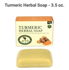 Turmeric Herbal soap w/ Cocoa Butter And black Seed Oil