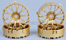 Tetsujin Daisy Rc Auto 1/10 Ruote Oro Regolabile Offset 3-6-9mm -4 Cerchi