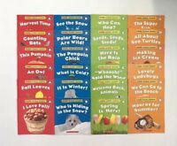 Seasons Science Childrens Books Leveled Readers Levels A-D Lot 24