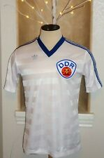 VTG 1980s ADIDAS EAST DDR GERMANY SOCCER JERSEY FOOTBALL SHIRT RARE WORLD CUP