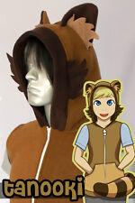 Tanuki, Tanooki Hoodie Vest, New, Kigurumi, Cosplay, Costume