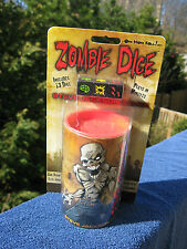 Zombie Dice by Steve Jackson Games SJG 131313 NEW & SEALED IN BLISTER PACK!