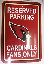 St. Louis Cardinals Reserved Parking Fans Only Sign 060813ame