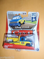 Disney Pixar Cars 2 2013 Piston Cup RACE TOW TRUCK TOM