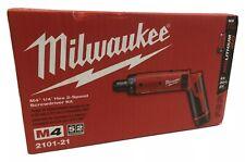 Milwaukee 2101-21 M4 4V 1//4-Inch Hex Screwdriver w// Battery