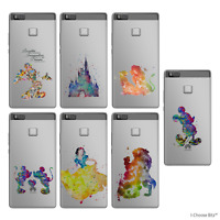 Disney Fan Art Coque en silicone étui housse pour Huawei P8 P9 Lite / Souple Gel