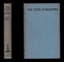 Heydemark WAR FLYING IN MACEDONIA 1917 Greece Salonika GERMAN STAFFEL Bulgarians