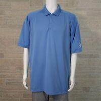 Port Authority Men's 2XL Albertsons Grocery Store Light Blue Employee Polo Shirt