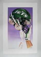 "New York Jets NFL Football 20"" x 30"" Team Lithograph Print (scarce)"