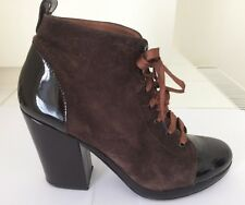 Robert Clergerie Brown Suede Shoes Size 38 (UK 5)
