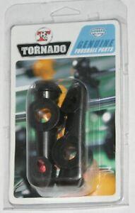 OEM Valley Dynamo Tornado Foosball Men Replacement Parts 2-Pack Black 850000015