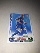 Match attax Karte Christian Pander FC Schalke 04  NEU