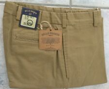 NWT!-Bills khakis M1-BKTB Size 34X30 Heavy Cotton CUFFED BRITISH KHAKI $165
