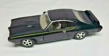 Motormax 1969 Pontiac JUDGE GTO American Classics 1:24 BLACK Diecast Vehicle