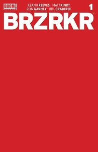 BRZRKR #1 1:10 RED BLANK SKETCH COVER Variant 2021 BOOM STUDIOS SOLD OUT