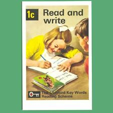 Postcard - Read And Write 1c - Ladybird Book Cover Postcard