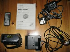 SONY HANDYCAM DCR-SR55E CAMCORDER 40GB HDD HARD DISC DRIVE DIGITAL VIDEO ZEISS