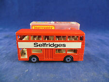 Matchbox Superfast MB-17b Daimler Fleetline Londoner Bus Selfridges