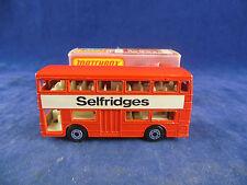 Matchbox Superfast MB-17b Daimler Fleetline Bus londinense Selfridges