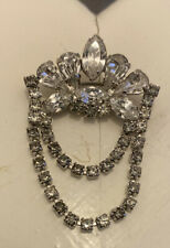 Small Diamante Brooch. Fabulouse Vintage Art Deco Style