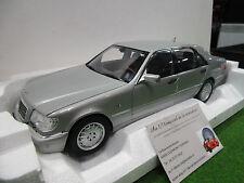 MERCEDES BENZ S600 de 1997 gris au 1/18 NOREV 183563 voiture miniature