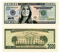 Pack of 100 - Melania Trump 2020 Re-Election Presidential Dollar Bill - Limit...