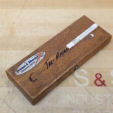 "Brown & Sharp 1"" Anvil Micrometer 175 - USED"