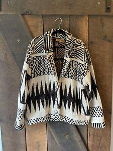 Vintage Painted Pony XL Tapestry Jacket USA Made Southwest Aztec Boho