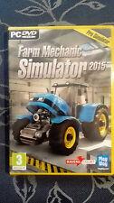 FARM MECHANIC SIMULATOR 2015 PC   NUOVO COMPLETAMENTE IN ITALIANO