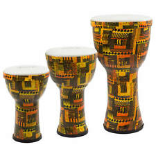 More details for world rhythm pvc pretuned djembes - orange