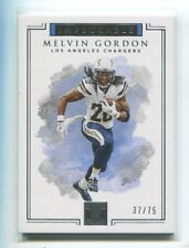 2017 Impeccable #5 Melvin Gordon/75 Los Angeles Chargers