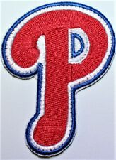 Philadelphia Phillies 'P' Letter Baseball Embroidered Iron Patch - Free Shipping