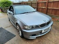 BMW 330CD M SPORT CONVERTIBLE MANUAL COUPE FACELIFT 204 BHP - NEEDS TLC