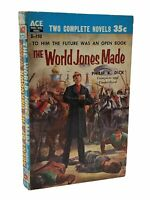 Philip K Dick The World Jones Made 1st edition paperback original Ace D-150 1956