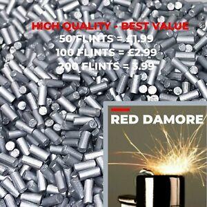RED DAMORE Lighter Flints VARIOUS COLOURS Lighters Flint for Lighter Flints