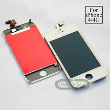 LCD Replacement For iPhone 4 A1332 Repair Screen Touch Digitizer + Frame Tools