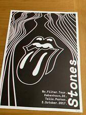The Rolling Stones Copenhagen 3/10/17 Litho