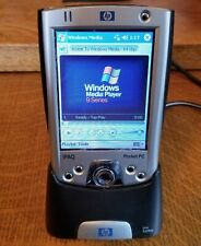 Hp iPaq H2200 Microsoft Windows Pocket Pc 2003 w/ Cradle ,Cable & Case