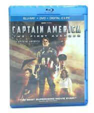 Captain America: The First Avenger (Blu-ray/DVD 2011) Chris Evans Marvel MCU