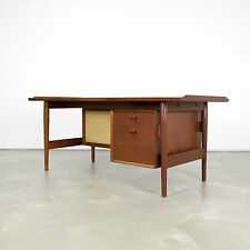 Danish Modern Writing Desk by Arne Vodder - Sibast 60s | Teak Schreibtisch No.2