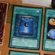 YU-GI-OH JAPANESE GOLD SECRET RARE HOLO CARD GS02-JP011 Book of Moon JAPAN **