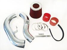 RED For 2002-2007 Subaru Impreza WRX STI 2.0L 2.5L Cold Air Intake Kit + Filter
