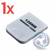 128MB Save Memory Card for Nintendo Gamecube Wii Console NGC GC