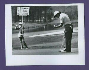 Rod Curl - 1980 GGO Greater Greensboro Open - Vintage PGA Golf Wire Photo