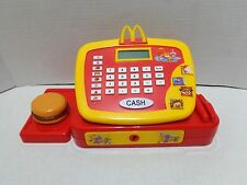McDonalds Toy Cash Register Electronic Talking Pretend Play Food 2004